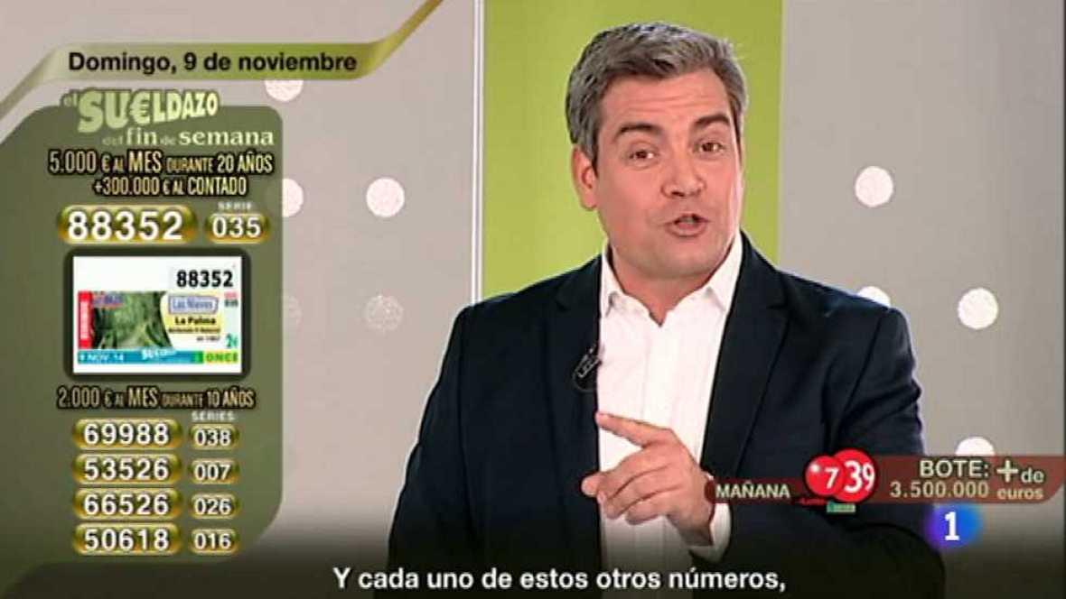 Sorteo ONCE - 09/11/14 - Ver ahora