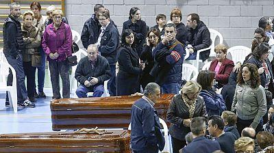 Los reyes presidente el funeral por los 14 fallecidos en un accidente de autobús en Murcia