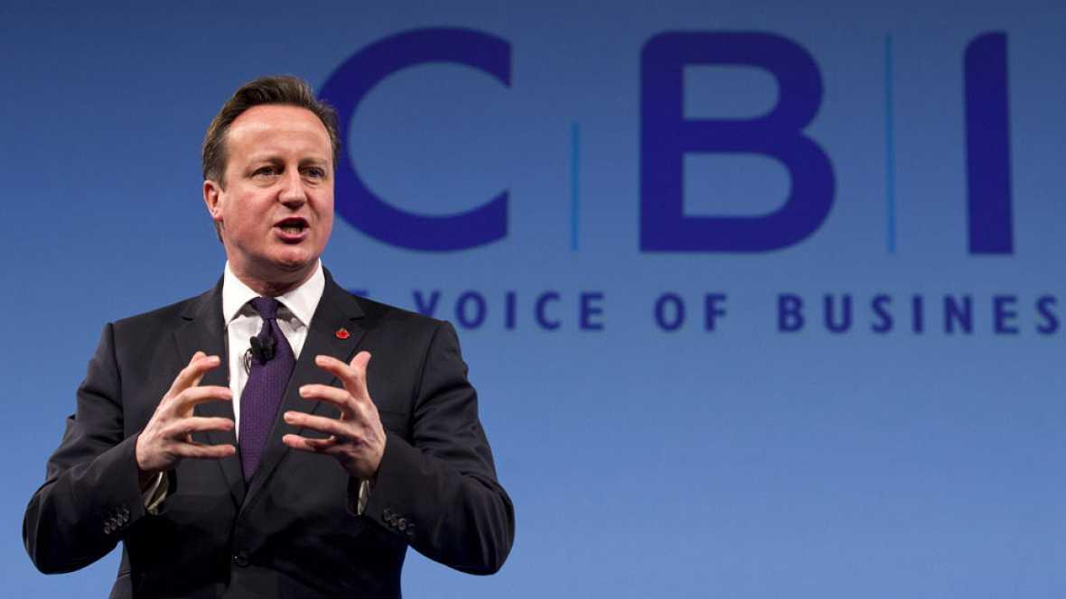 """David Cameron dice que prefiere una España """"unida"""""""