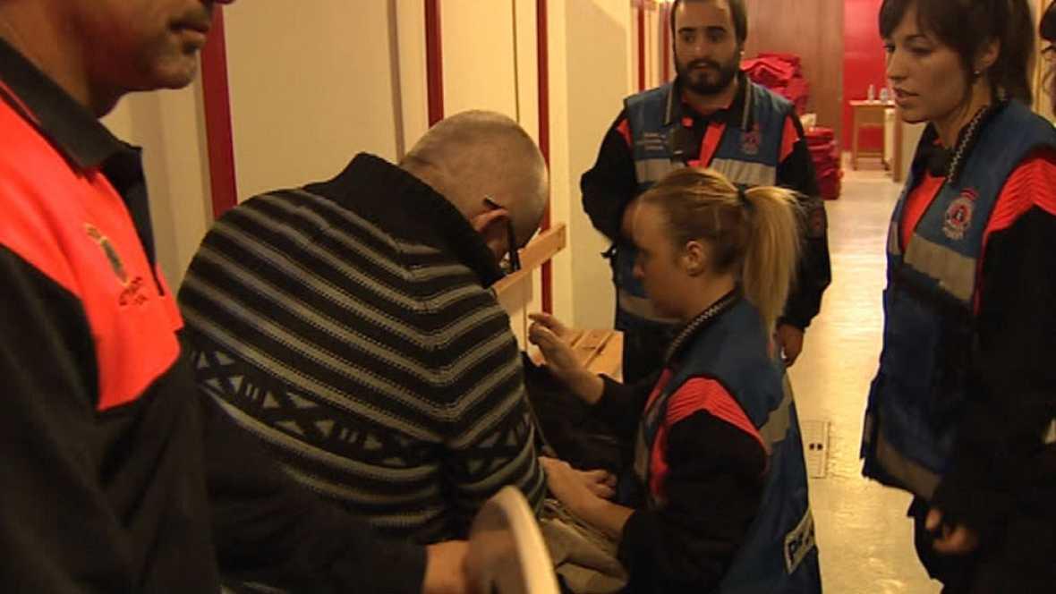 Equipos de psicólogos ayudan a los familiares de los fallecidos en el accidente de Cieza