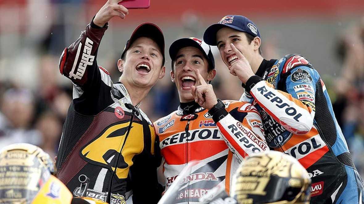 Marc, Tito y Alex, los reyes del motociclismo 2014