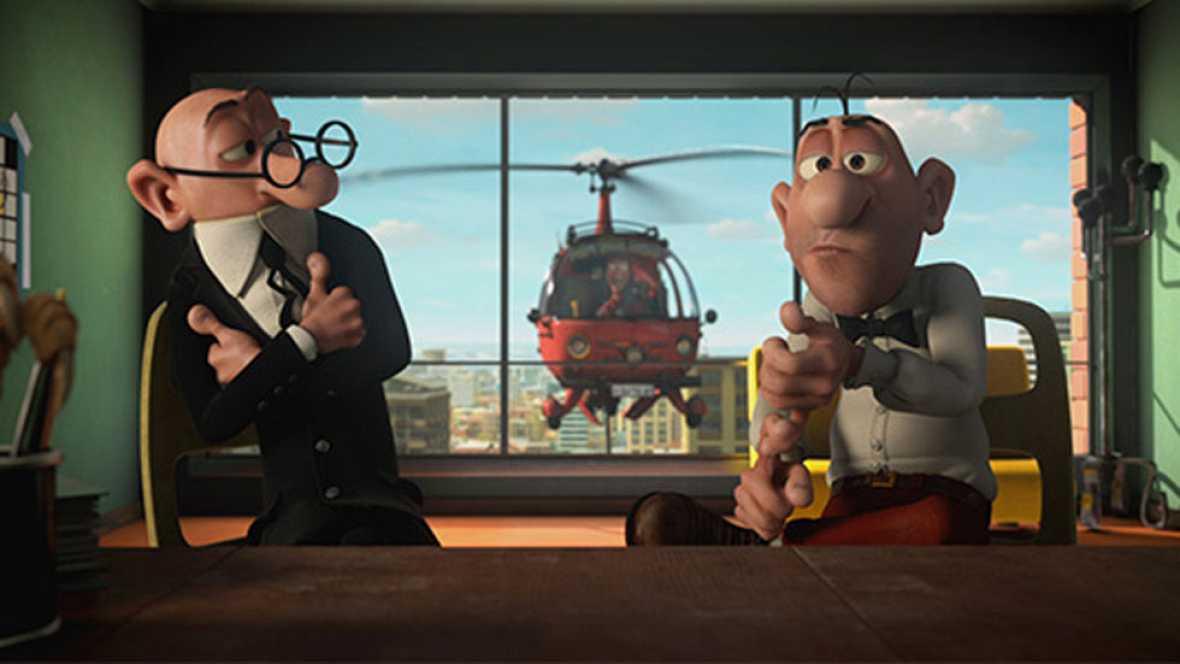 Macaco interpreta el tema central de la nueva película de Mortadelo y Filemón