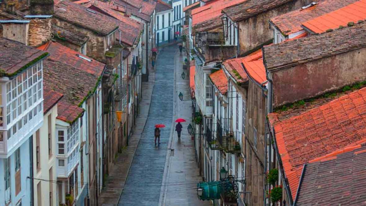 Precipitaciones en el oeste de Galicia