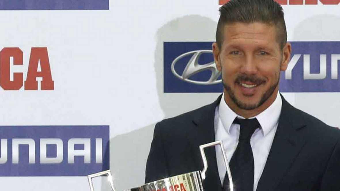 El Atlético y Simeone, premiados por fin