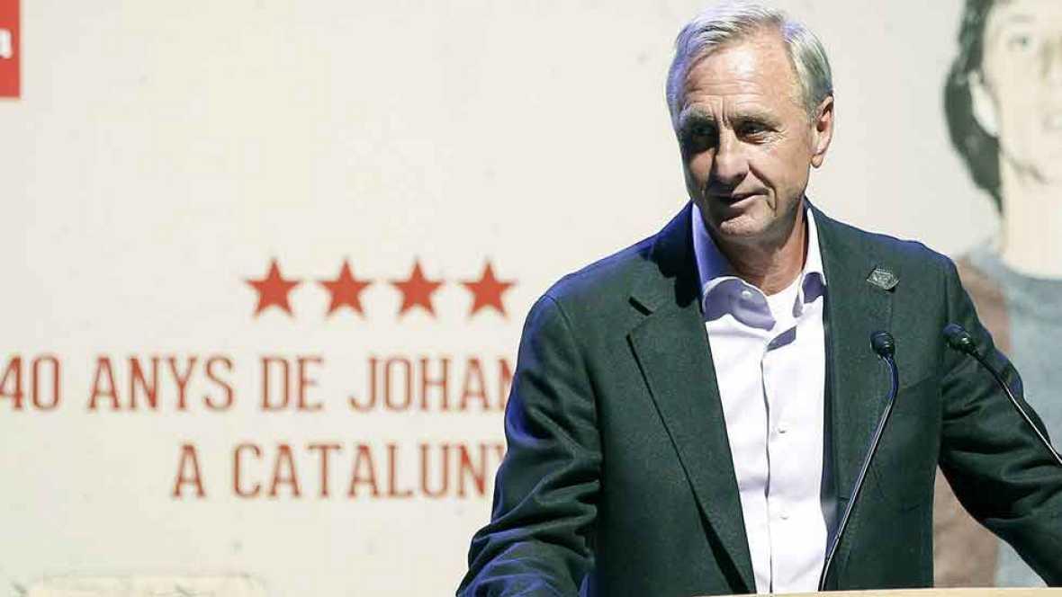 """Cruyff: """"Hay otros que no tienen la experiencia de Ancelotti"""""""