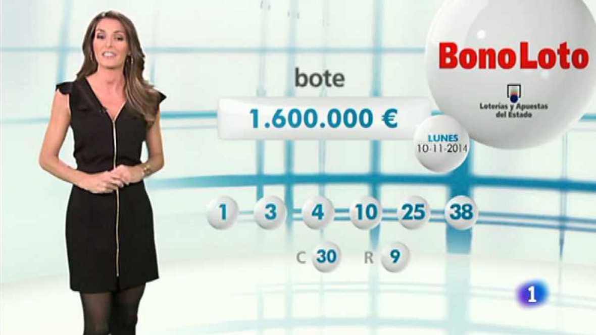 Bonoloto - 10/11/14 - Ver ahora