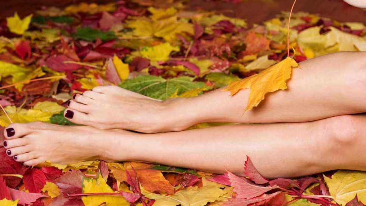 Cuida tus pies en otoño