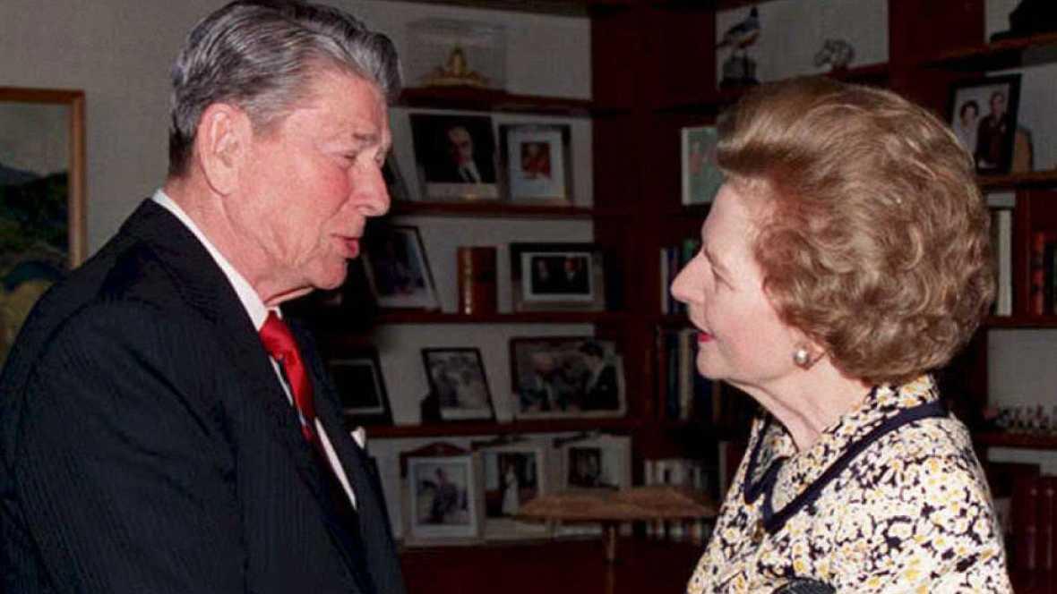 Publican la desconocida grabación en la que Reagan se disculpó con Thatcher por la invasión de Granada