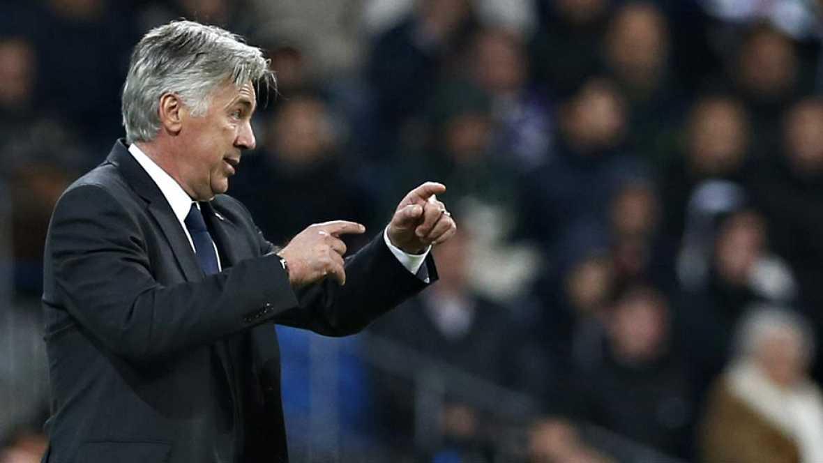 """El entrenador del Real Madrid, Carlo Ancelotti, ha alabado a su plantilla como la """"más dedicada"""" que ha tenido durante toda su carrera en los banquillos, un grupo en el que """"nunca"""" ha tenido que enfrentarse a un jugador """"para motivarle"""", ya que el su"""