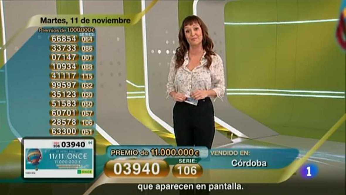 Sorteo ONCE - 11/11/14 - Ver ahora