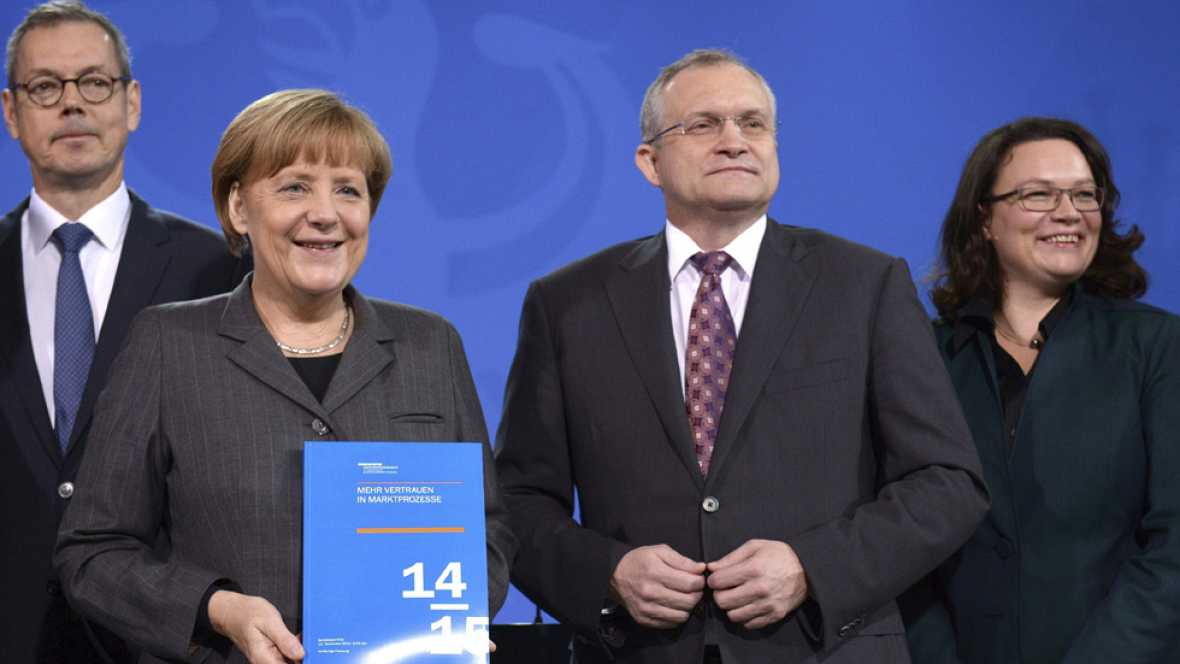 """Alemania crecerán solo un 1% en 2015, según la previsiòn de los cinco """"sabios"""""""