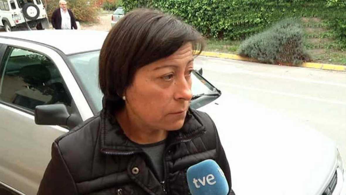 """Encarna Romera, mujer del conductor: """"Psicológicamente está muy mal"""""""