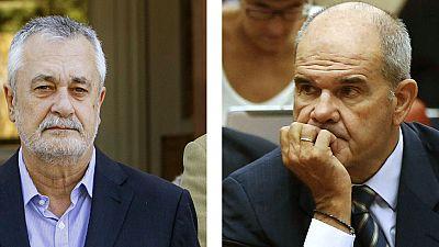 El Supremo abre una causa contra Chaves y Griñán por el caso de los ERE