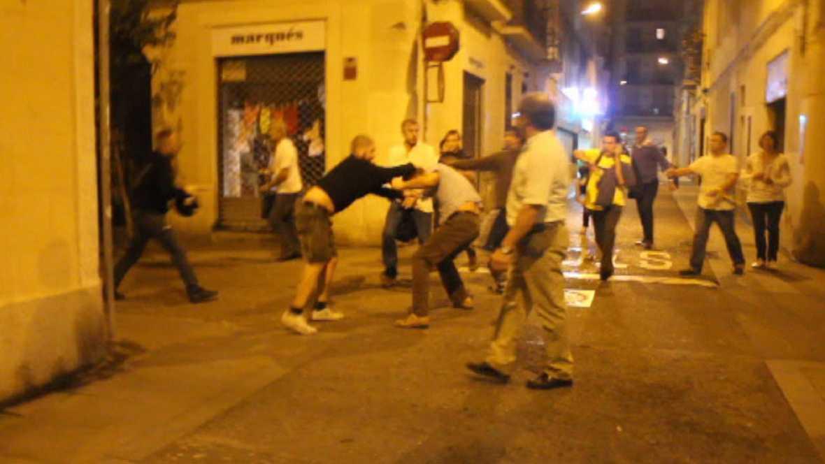 En Barcelona, un juez investiga una violenta agresión a varios ciudadanos de Ucrania
