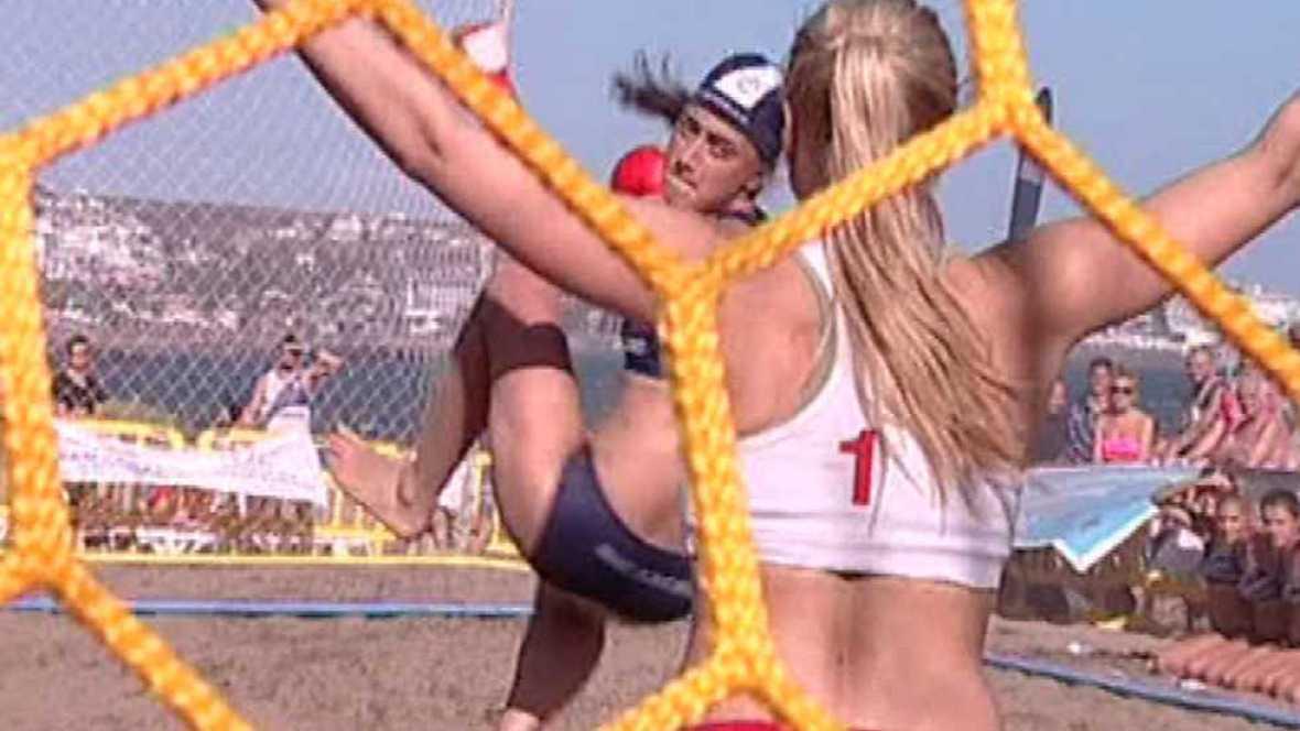 Balonmano playa - Copa de Europa de Clubes Gran Canaria - Ver ahora