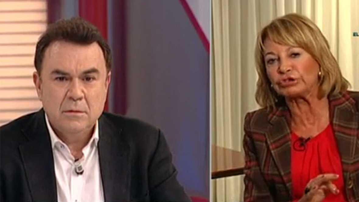T con T - Enfrentamiento entre Isabel García Marcos y Juan Luis Galiacho