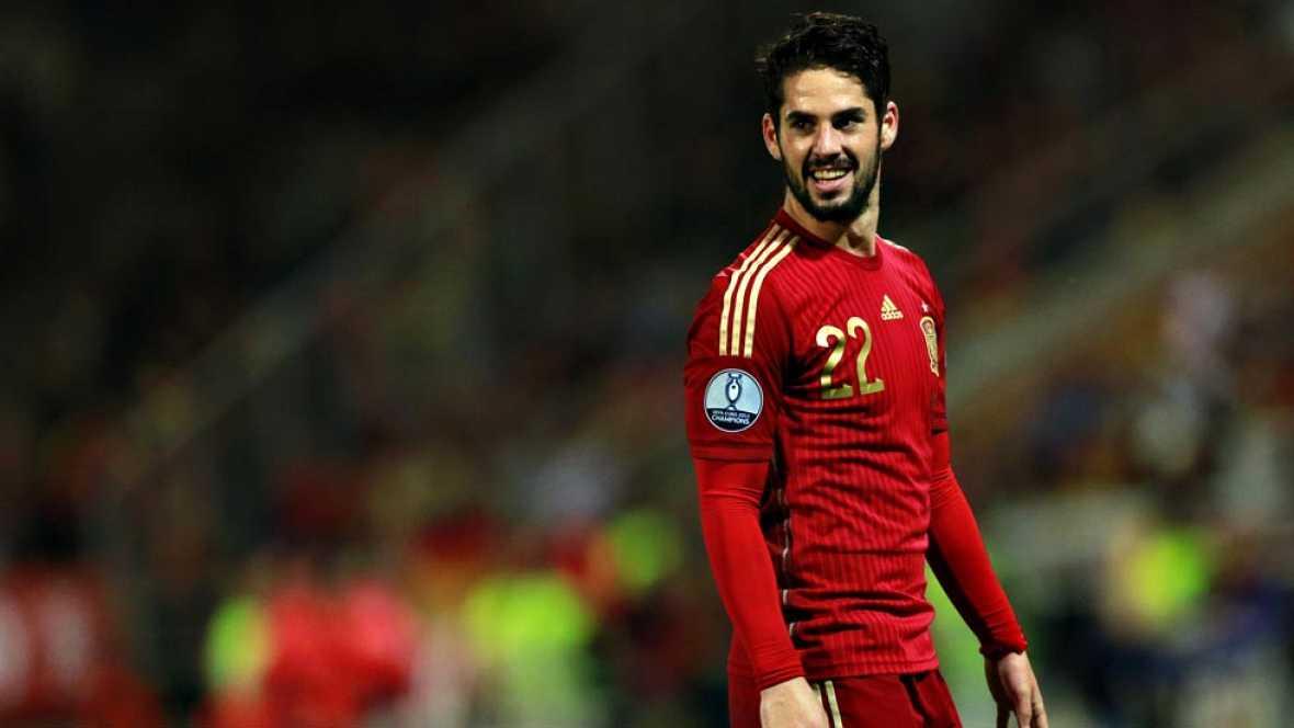 El centrocampista del Real Madrid fue la estrella del partido entre España y Bielorrusia. Sus regates y su gol maravilló a la afición de Huelva.