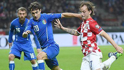 Croacia deja en evidencia a Italia y Holanda se rehace ante Letonia