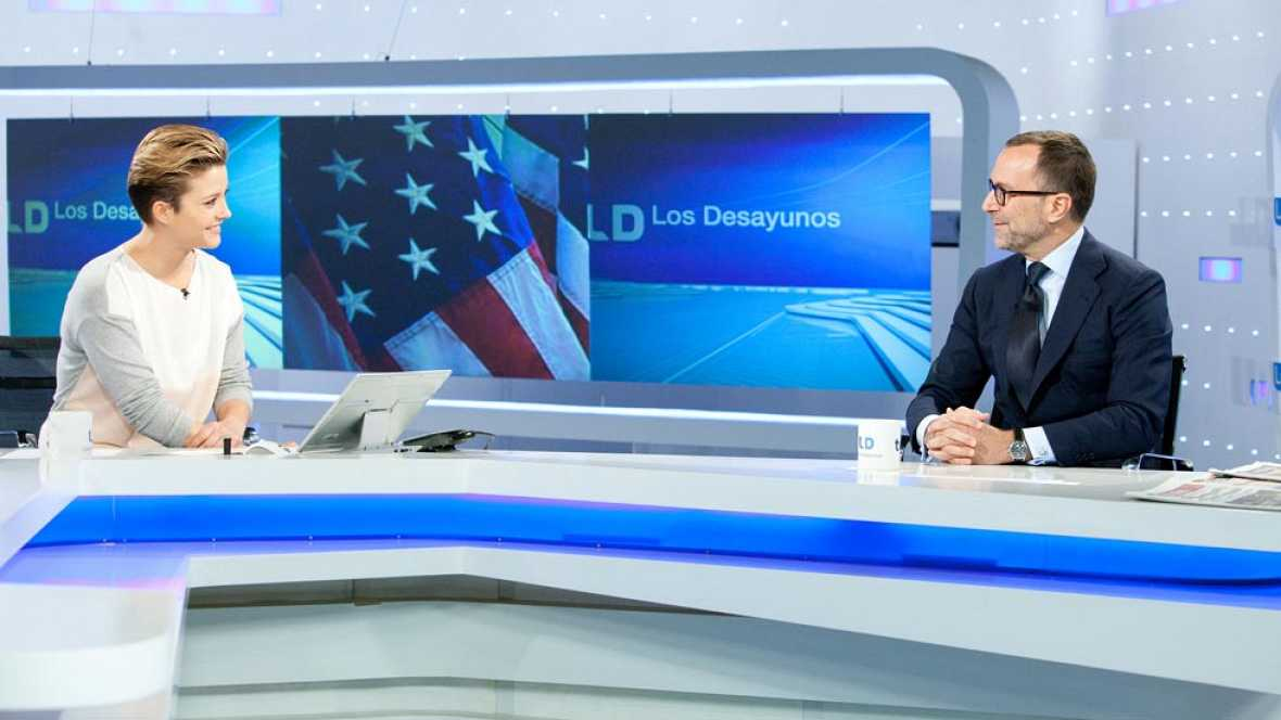Entrevista al embajador de EE.UU., James Costos, en Los Desayunos