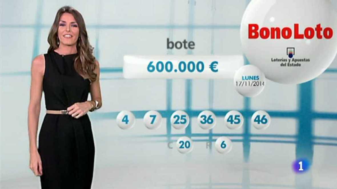 Bonoloto - 17/11/14 - Ver ahora