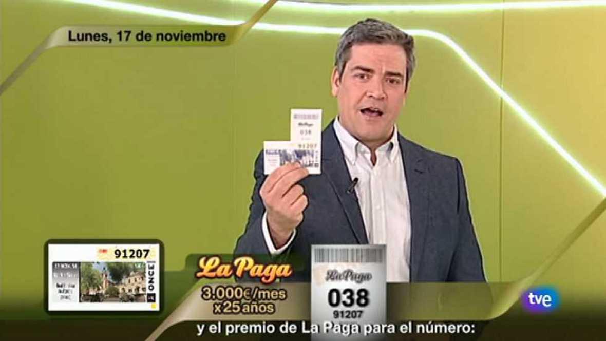 Sorteo ONCE - 17/11/14 - Ver ahora