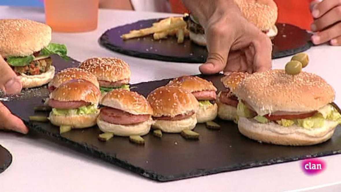 Gran hamburguesa vegetariana