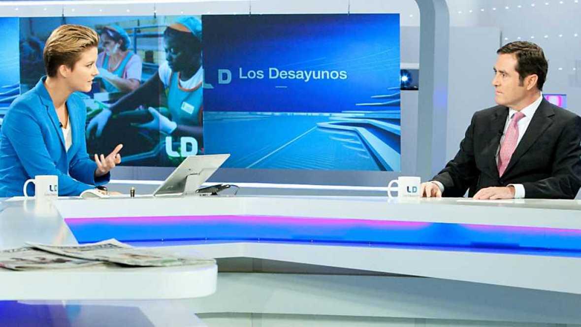 Los Desayunos de TVE - Antonio Garamendi, presidente de CEPYME - Ver ahora