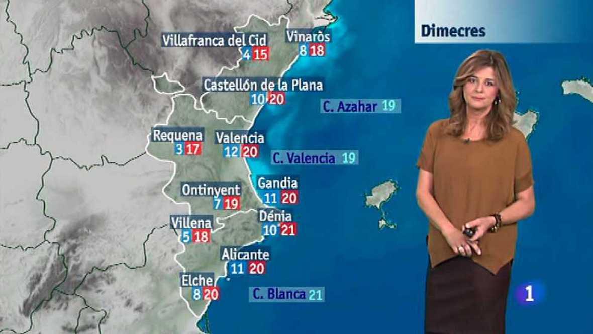 El tiempo en la Comunidad Valenciana - 18/11/14 - Ver ahora