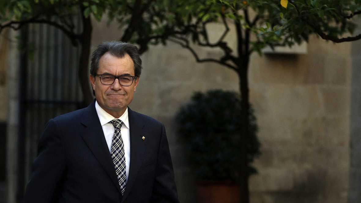 El Gobierno catalán denuncia presiones a los fiscales catalanes para que actuaran contra Artur Mas