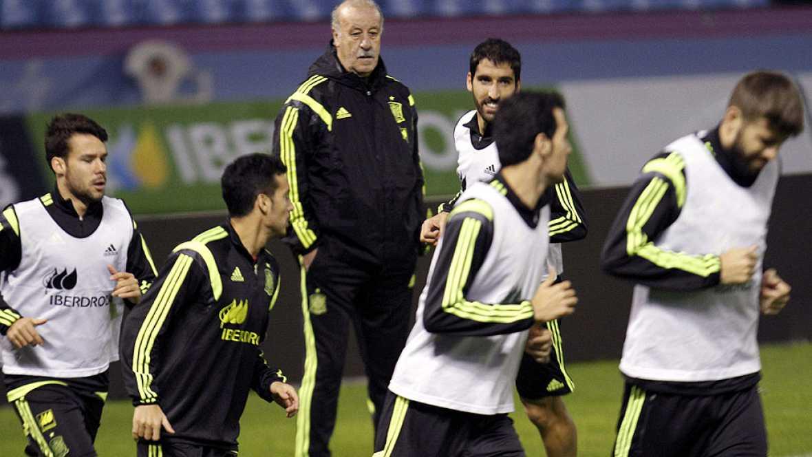 Balaídos vuelve a acoger a la selección española y lo hace volcada con un equipo en el que podría debutar Nolito, la gran estrella del Celta.
