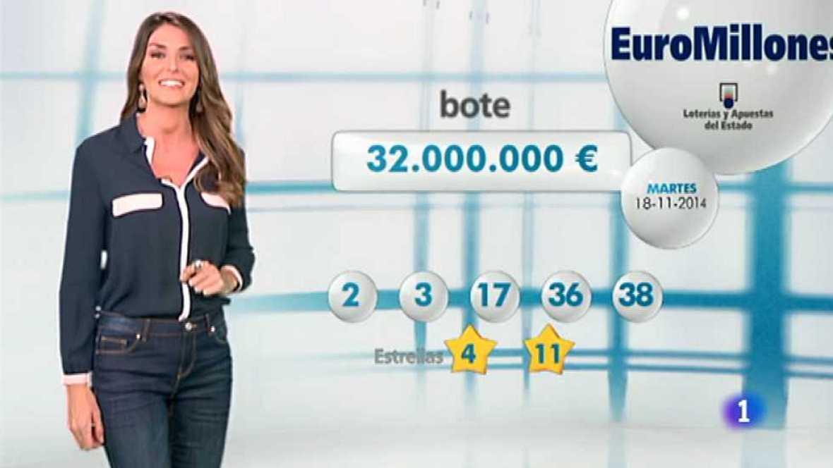 Bonoloto + EuroMillones - 18/11/14 - Ver ahora