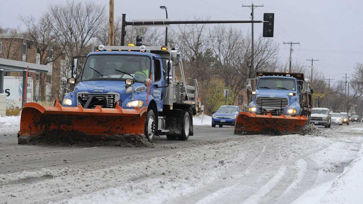Cinco muertos en el oeste de Nueva York por el temporal de nieve