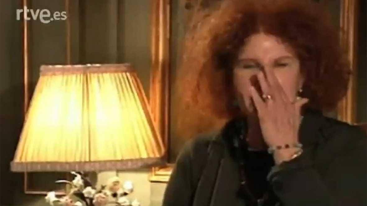 La duquesa de Alba elogia a Rocío Jurado (2001)