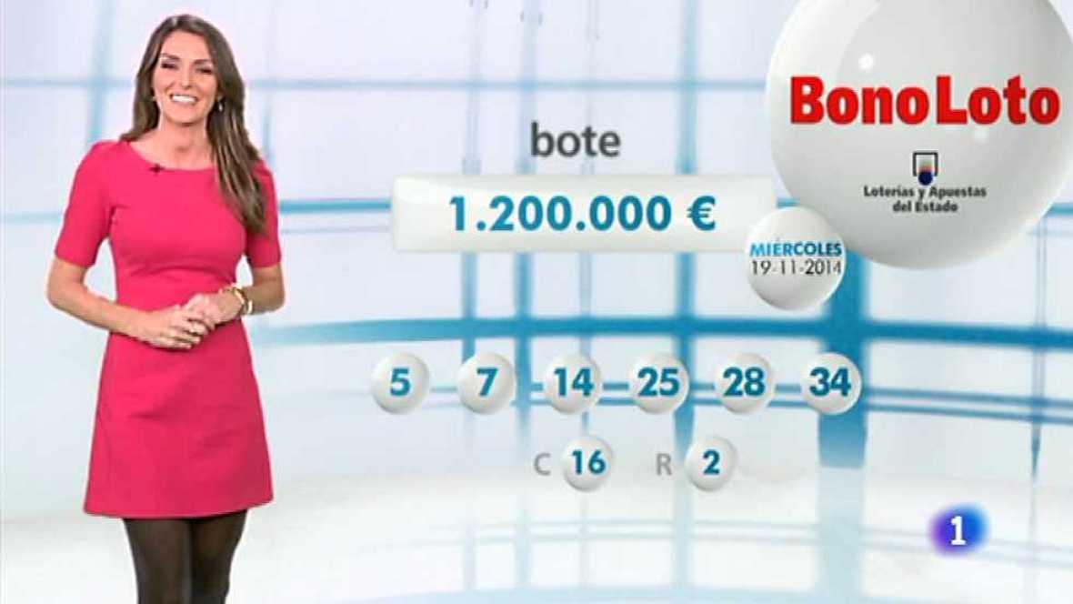 Bonoloto - 19/11/14 - Ver ahora