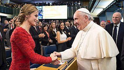 El papa denuncia que la prioridad del mercado y la ganancia dificultan la lucha contra el hambre