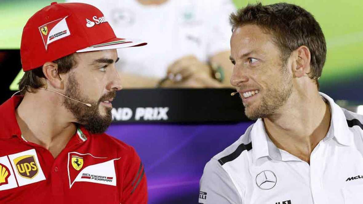 Alonso y Button, ¿compañeros en McLaren?