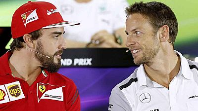 Alonso y Button, ¿compañeros en McLaren?