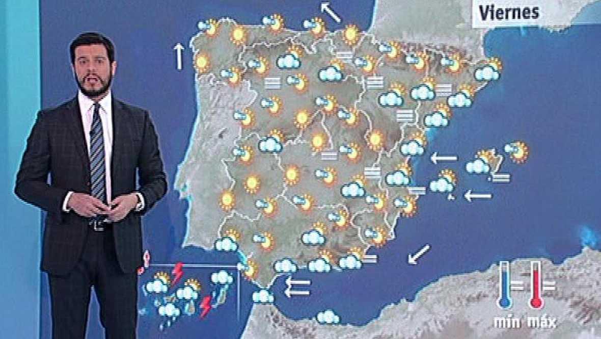 Jornada soleada salvo en Canarias, donde continúan las lluvias