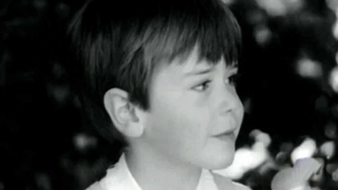 Cayetano Martínez de Irujo, a los 3 años