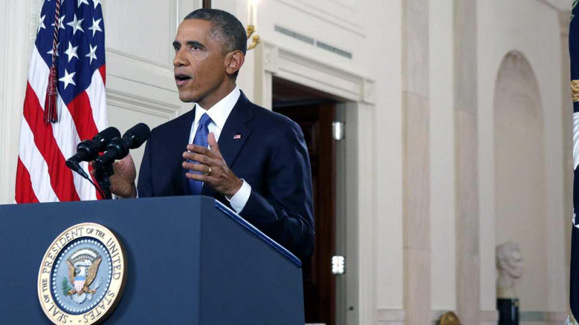 """""""Las acciones que estoy tomando son legales"""", afirma Obama"""