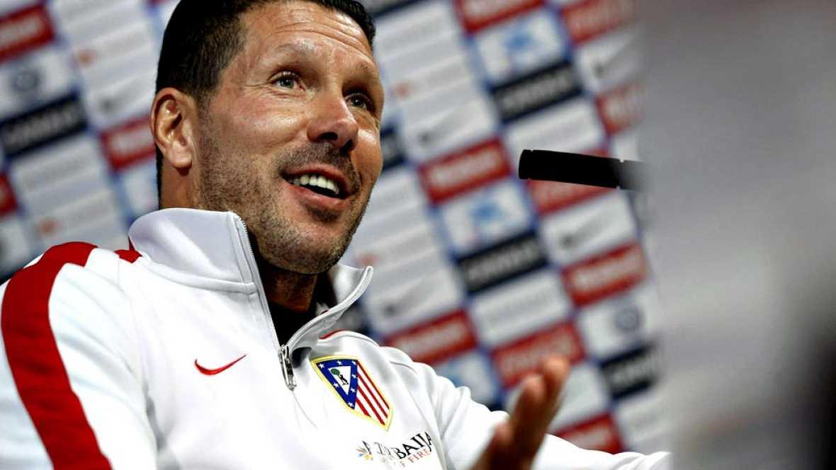 El argentino Diego Simeone, entrenador del Atlético de Madrid, dijo hoy que no ha perdido la confianza en el italiano Alessio Cerci y que no le han dolido las declaraciones del atacante pidiendo más minutos en el equipo rojiblanco después del partido