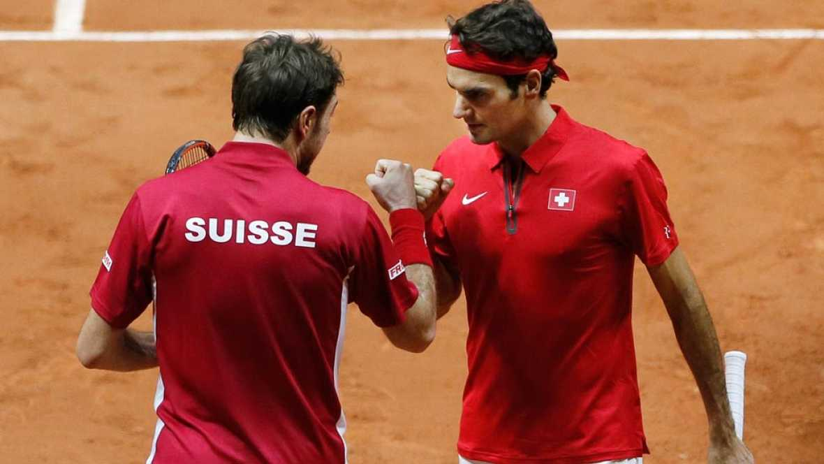 Suiza toma delantera en la final de la Davis