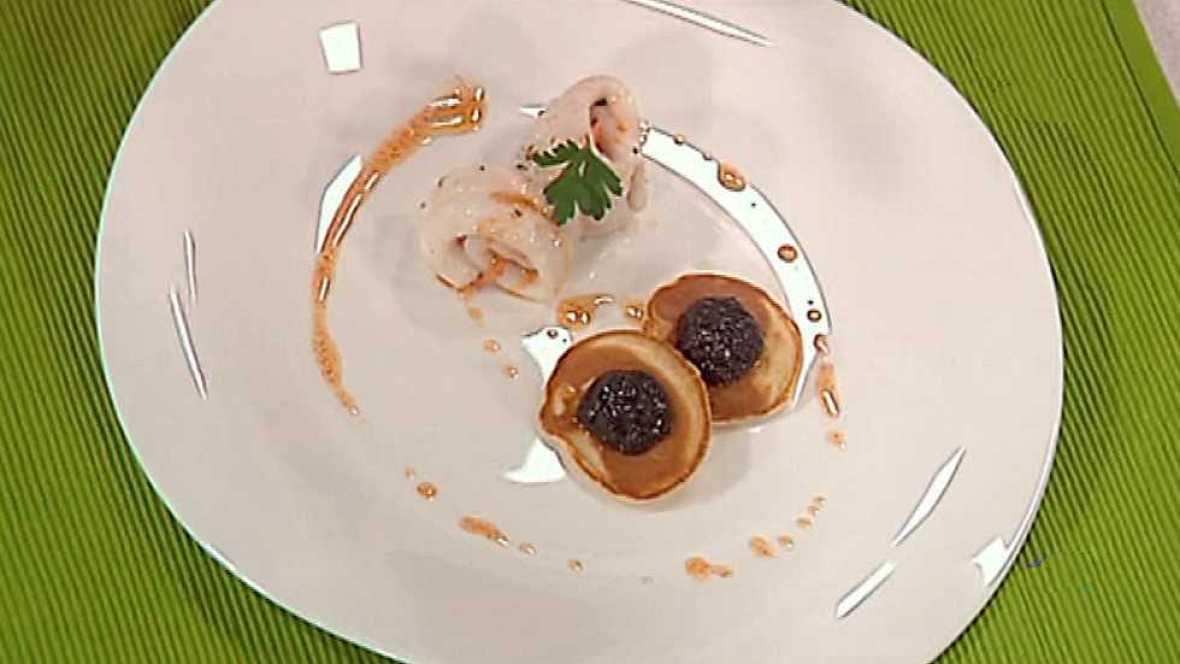 Cocina con Sergio - Gallo relleno con paté de aceitunas  - Ver ahora