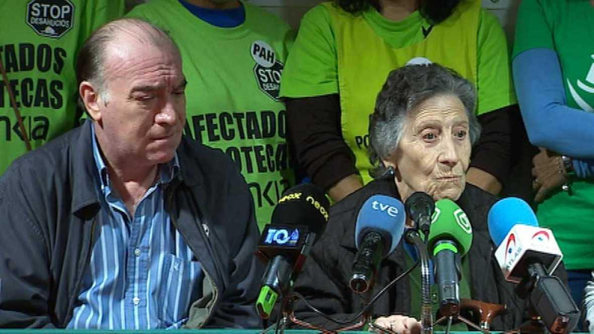 Primeras declaraciones de Carmen la mujer de 85 años desahuciada