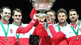 Federer ya tiene su Davis