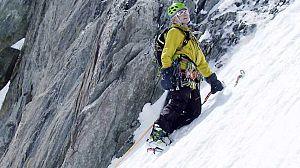 Escalada en hielo con Patrick Gabarrou