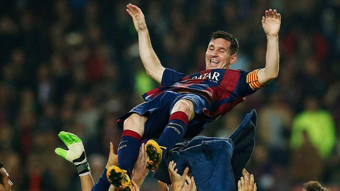 Tras Zarra, Messi va a por el récord de Raúl