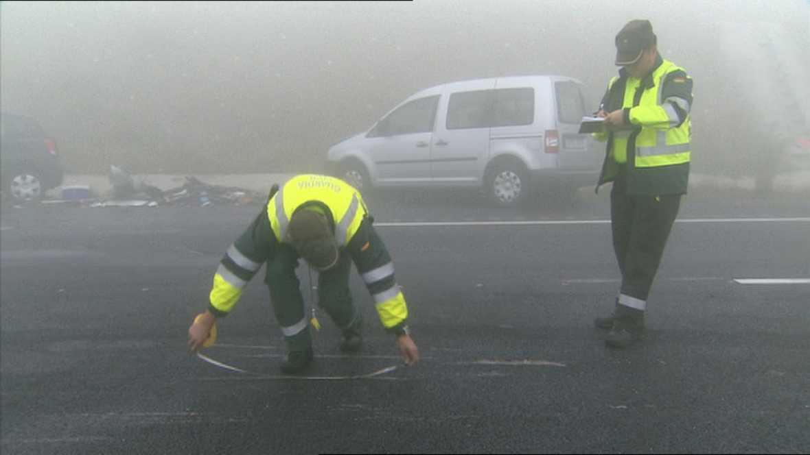 Un equipo especializado de la Guardia Civil desentraña las causas de los atropellos