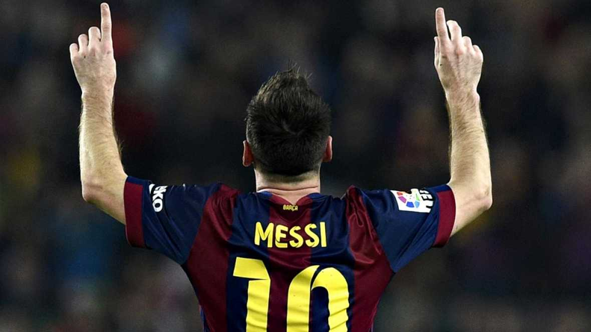 Este sábado Leo Messi entró en la historia de la Liga Española. Después de 60 años batió el récord de Telmo Zarra (251 goles) y se convirtió en el máximo anotador de la competición doméstica con 253 tantos. Pero a sus 27 años, este crack argentino aú