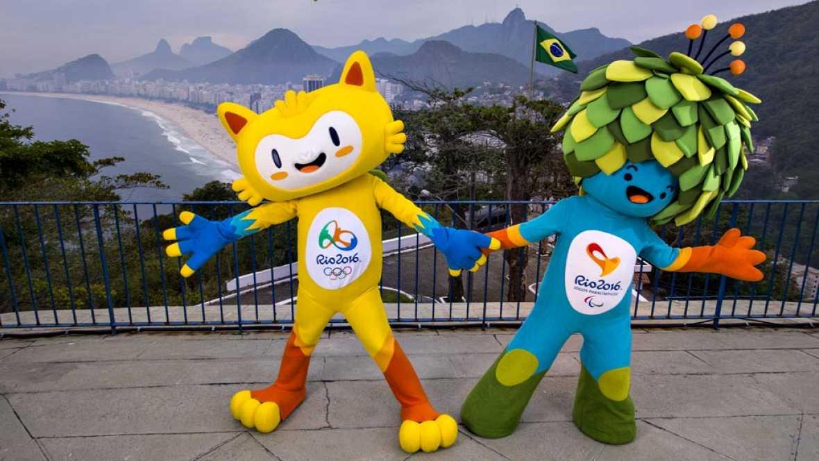 Los Juegos de Río ya tienen mascotas. Son un animal amarillo y un árbol animado, que buscan nombre en una votación popular que se celebrará por internet.